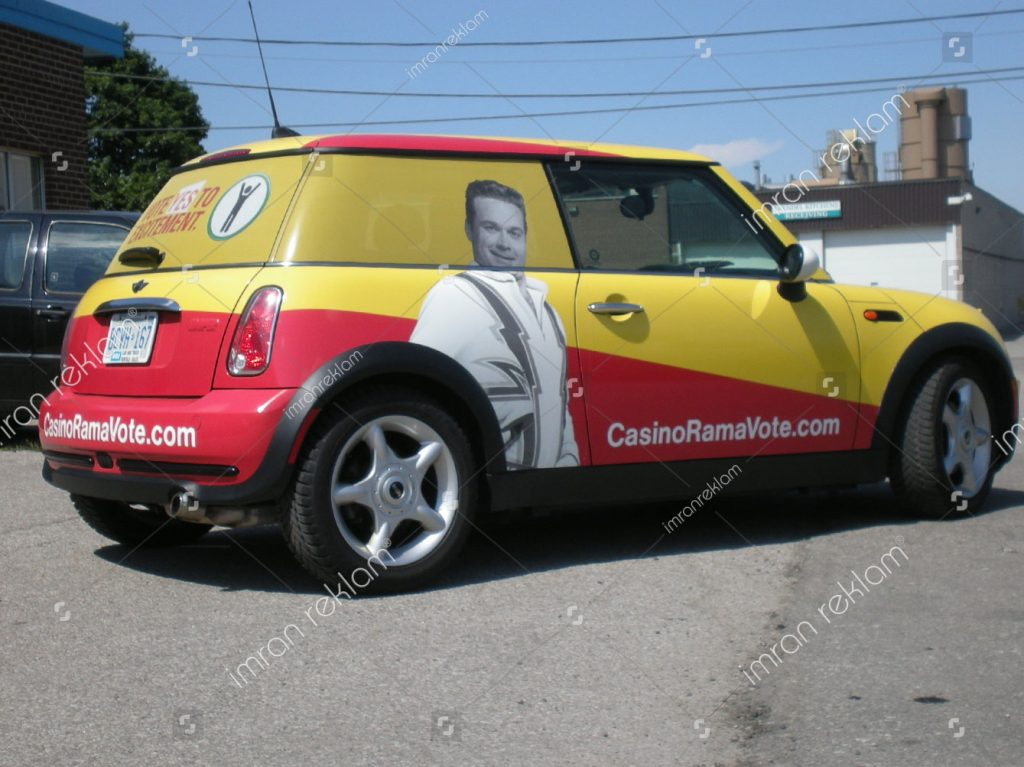Mini Cooper Araç Giydirme