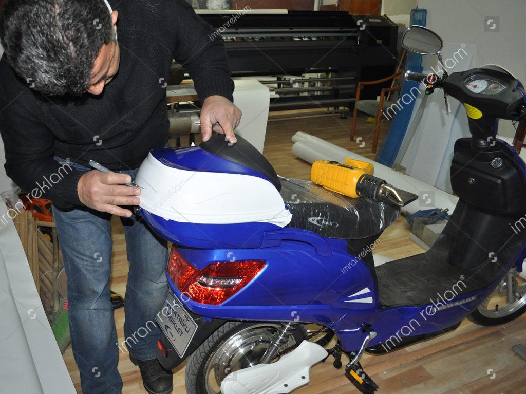 Motorsiklet Giydirme