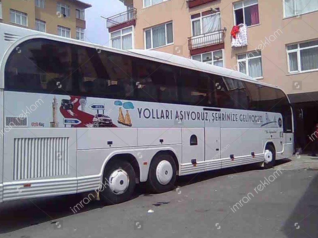 Otobüs Araç Giydirme