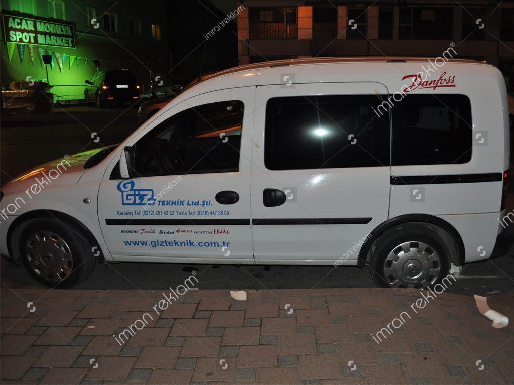 Opel Combo Araç Giydirme