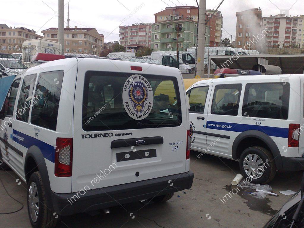Polis Aracı Giydirme