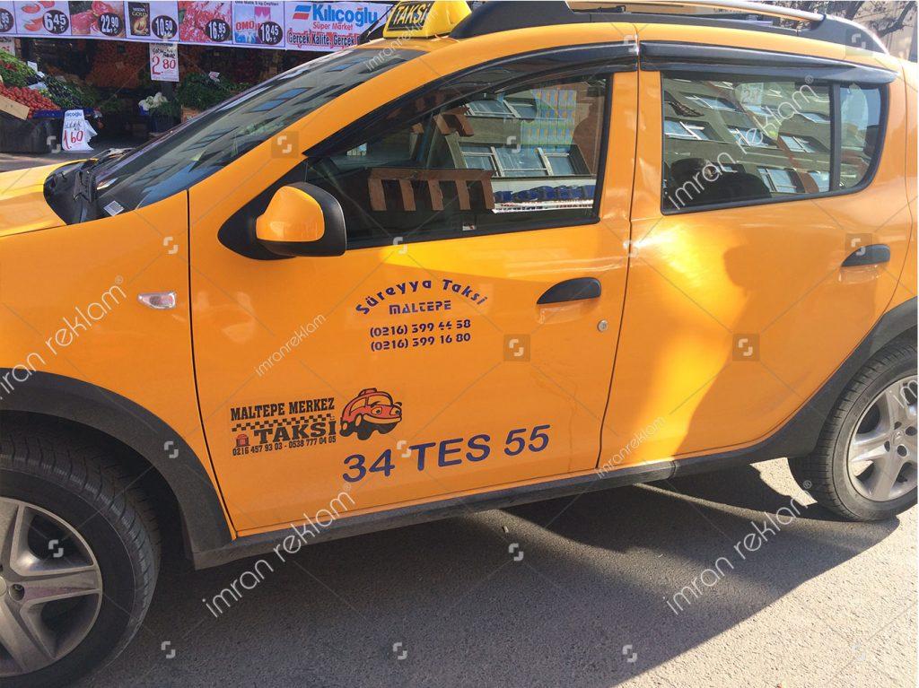 Taksi Araç Giydirme
